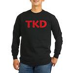 TKD Taekwondo Long Sleeve Dark T-Shirt