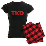 TKD Taekwondo Women's Dark Pajamas