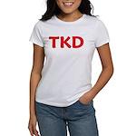 TKD Taekwondo Women's T-Shirt