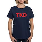 TKD Taekwondo Women's Dark T-Shirt