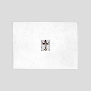 Crucifix 5'x7'Area Rug