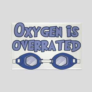 Oxygen is overrated Rectangle Magnet