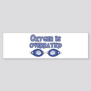 Oxygen is overrated Sticker (Bumper)
