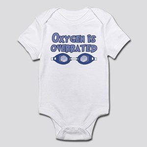 Oxygen is overrated Infant Bodysuit