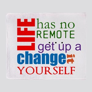 No Remote Throw Blanket