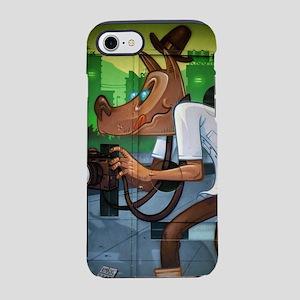 Dog Paparazzi Graffiti iPhone 8/7 Tough Case