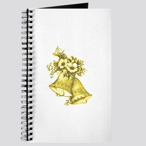 Yellow Wedding Bells Journal