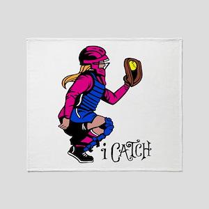 i Catch Throw Blanket