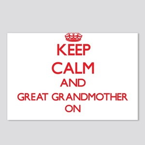 Keep Calm and Great Grand Postcards (Package of 8)