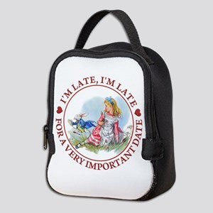 I'm Late , I'm Late, For a Very Neoprene Lunch Bag