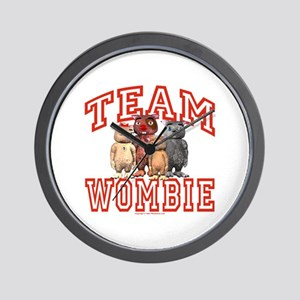 Team Wombie Wall Clock
