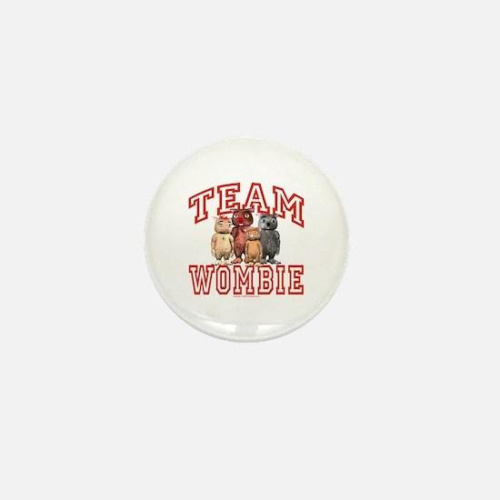 Team Wombie Mini Button