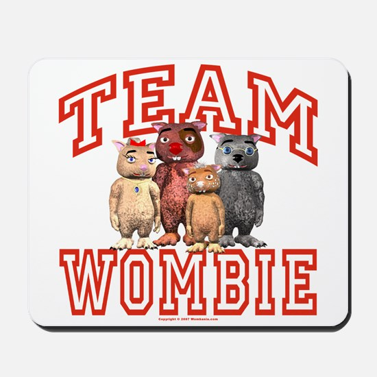 Team Wombie Mousepad