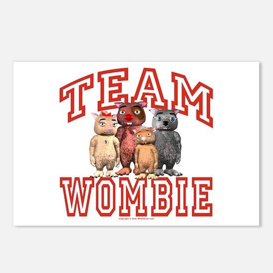 Team Wombie Postcards (Package of 8)