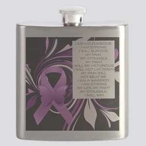 Pink Ribbon, the Fight Flask