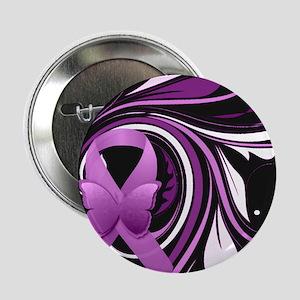 "Pink Awareness Ribbon 2.25"" Button (10 pack)"