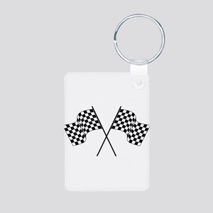 racing car flags Keychains