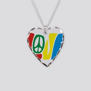 lovePeace Necklace Heart Charm