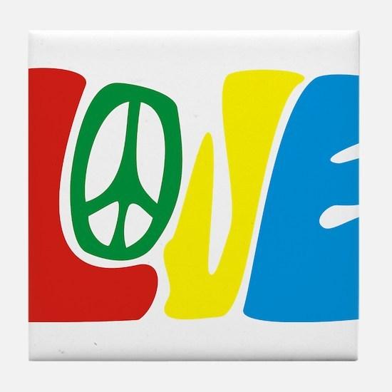lovePeace Tile Coaster
