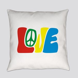 lovePeace Everyday Pillow