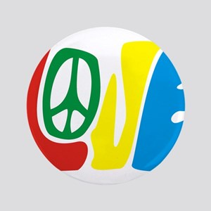 lovePeace Button