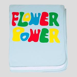 flowerPower baby blanket