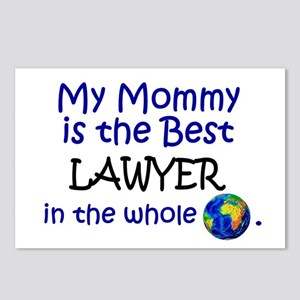 Best Lawyer In The World (Mommy) Postcards (Packag