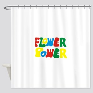 flowerPower Shower Curtain