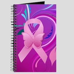 Pink Awareness Ribbon Journal