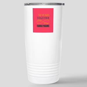 10th Anniversary Infini Stainless Steel Travel Mug