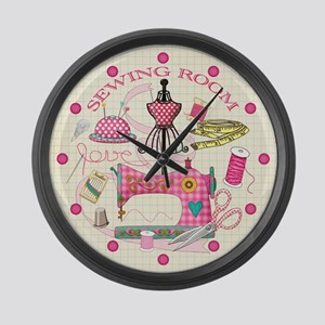 Sewing Large Wall Clock