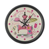 Sewing Wall Clocks