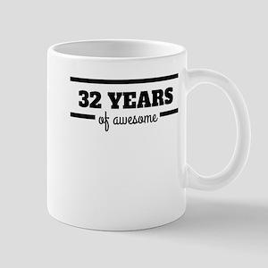 32 Years Of Awesome Mugs