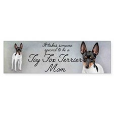 Toy Fox Terrier Mom Bumper Sticker