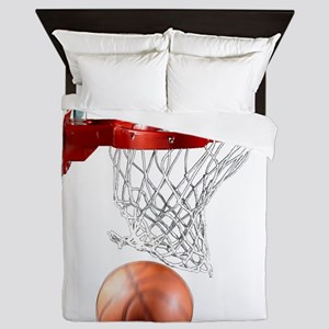Basketball_Scoring_Machine Queen Duvet