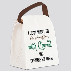 I JUST WANT TO... Canvas Lunch Bag
