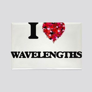 I love Wavelengths Magnets