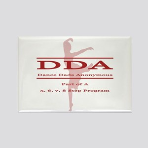 Dance Dads Anonymous Rectangle Magnet