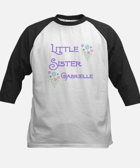 Little Sister Gabrielle Kids Baseball Jersey