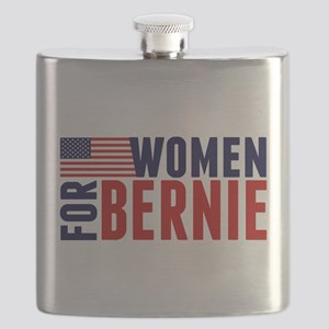 Women for Bernie Flask