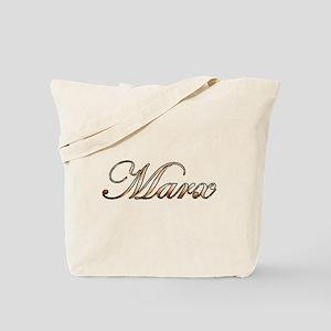 Gold Marx Tote Bag