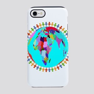 Rainbow World Unity iPhone 8/7 Tough Case