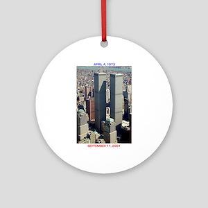 WTC-Complex-lge poster-8b5-cpJour Ornament (Round)