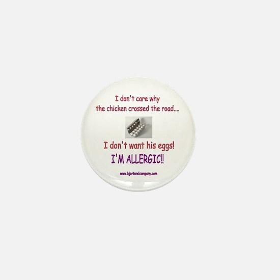 Egg Allergy/Mini Button
