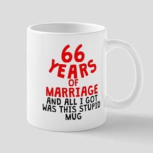66 Years Of Marriage Mugs