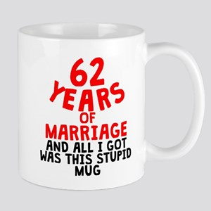 62 Years Of Marriage Mugs