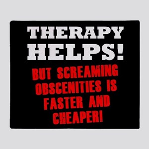 THERAPY HELPS Throw Blanket