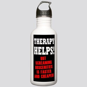 THERAPY HELPS Stainless Water Bottle 1.0L