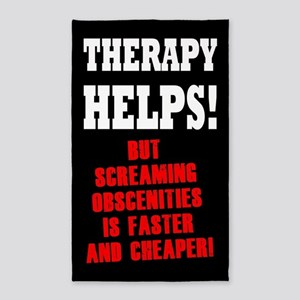 THERAPY HELPS Area Rug