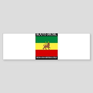 Roots-Music-Flag-Ethiopia Bumper Sticker